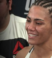 UFC 199: Jessica Andrade Felt Powerful In TKO Win Over Penne, Wants Esparza Next