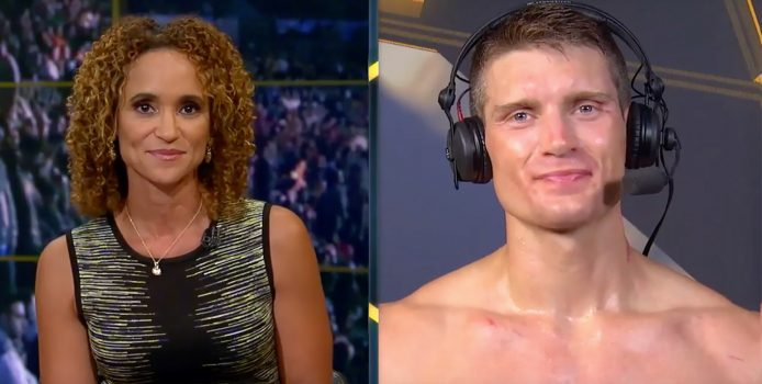 """Stephen """"Wonderboy"""" Thompson Reacts To Win Over Rory MacDonald"""