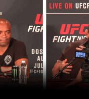 Silva Talks UFC 200 Cormier Fight at UFC Vegas Post-Fight Presser: Alvarez Is New Champ (LIVE!)
