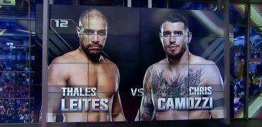 UFC Fight Night Salt Lake City: Thales Leites vs Chris Camozzi Highlights