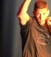 "UFC 202: Nate Diaz Works Out Before McGregor Rematch; Calls Nick The ""Master Ninja"""