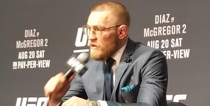 "UFC 202: Conor McGregor Calls Nate Diaz ""One Tough Motherf*cker"" After Rematch Win"