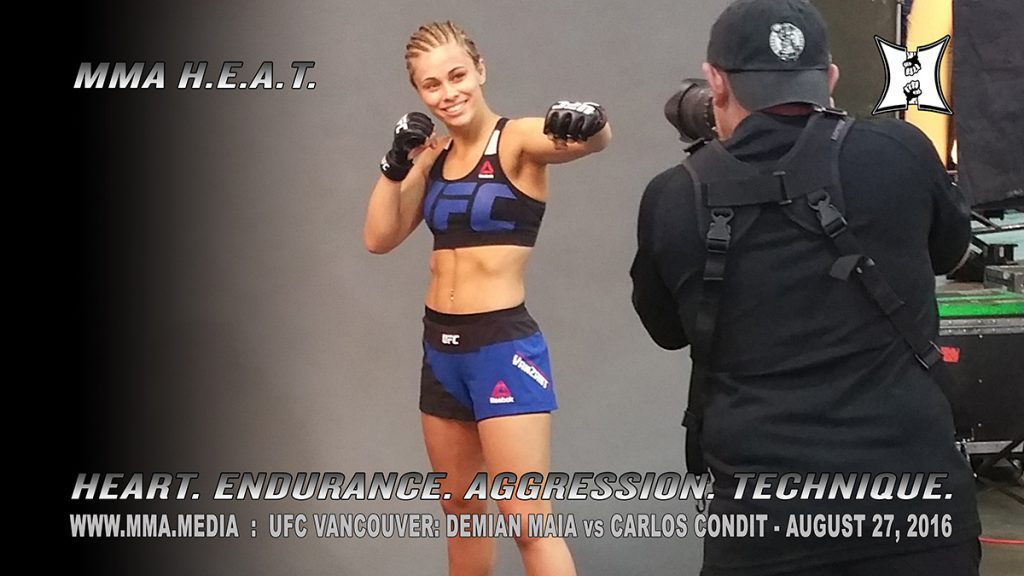 UFC Vancouver: Paige VanZant knocked out Bec Rawlings