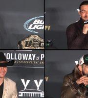 (360° VR / 4K) UFC 206 Post-Fight: Interim FW Champ Max Holloway, Swanson, Cerrone + Gastelum