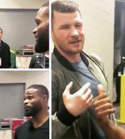 UFC Champs' Challenge: Bisping vs Woodley?
